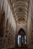 Ulm Cathedral interior Stock Photography