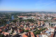 Ulm cityscape, Germany Royalty Free Stock Photo