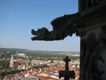Ulm in Deutschland stockbild