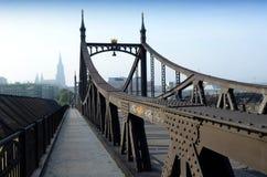 Ulm Deutschland - die alte Brücke Stockbild