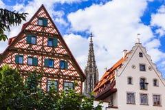 Ulm, Duitsland royalty-vrije stock foto