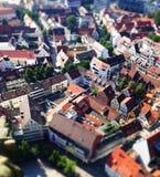 Ulm i miniatyr Arkivbilder