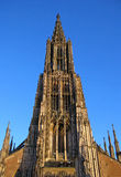 Ulm-Kathedrale, Deutschland Stockbild