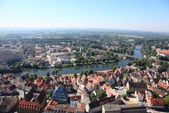 Ulm Skyline Stockfotografie