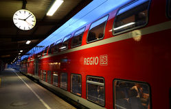 Ulm - at the station Royalty Free Stock Image