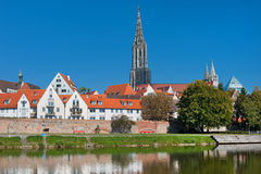 Ulm in summer Stock Photos