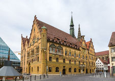 Ulm town hall (Rathaus) - Germany, Baden-Wurttemberg Royalty Free Stock Image