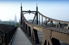 Ulm Tyskland - de gammala överbryggar Fotografering för Bildbyråer