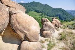 Ulmet concretions (Babele de la Ulmet) Stock Photo