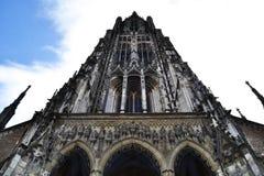 Ulmkathedraal in Beieren, Duitsland stock fotografie