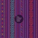 Ulos tradycyjny batik od północnego sumatera Indonesia bezszwowego kolorowego deseniowego tła ilustracji