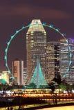 ulotka Singapore Zdjęcie Royalty Free