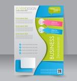 Ulotka szablon Broszurka projekt A4 biznesu pokrywa Zdjęcia Stock