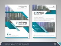 Ulotki okładki magazynu broszurki biznes Fotografia Stock