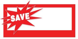 ulotki talonowa sprzedaż save Fotografia Royalty Free