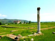 Ulpia Traiana Augusta Dacica Sarmizegetusa, бывшая столица старой румынской statal организации Стоковая Фотография RF