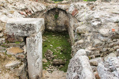 Ulpia Traiana Sarmizegetusa ruiny Fotografia Royalty Free