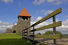Ulrichstein - castelo foto de stock