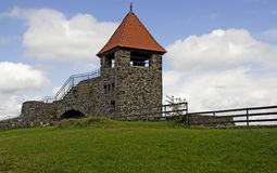 Ulrichstein - Kasteel Royalty-vrije Stock Foto