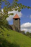 Ulrichstein - kasztel Fotografia Royalty Free