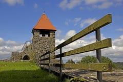 Ulrichstein - slott Arkivfoto