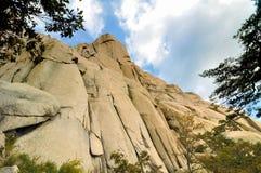 Ulsanbawi w Seoraksan parku narodowym Zdjęcia Royalty Free