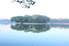 Ulsoor湖 免版税图库摄影