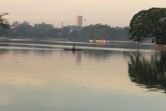 Ulsoor lake Royalty Free Stock Photo