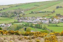 Ulster-Dorf Stockbild