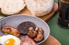 Ulster fríe el desayuno imagenes de archivo