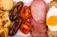 Ulster fríe el desayuno imágenes de archivo libres de regalías