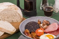 Ulster grande fríe el desayuno imagenes de archivo