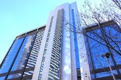 Ulta modern skyscraper Stock Photography