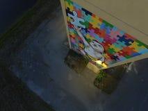 Ultima parte di puzzle Immagine Stock