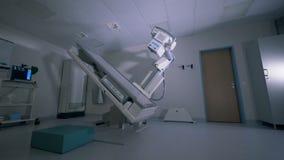 Ultima tecnologia medica dei raggi x Analizzatore di CT Attrezzatura di radiologia stock footage