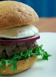 Ultimata grekiska hamburgare Royaltyfria Foton