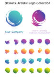 Ultimate artistic logo design collection Royalty Free Stock Photography