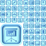 The Ultimate Business Icon Set. Ultimate Icon Set for your business Royalty Free Stock Image