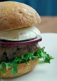 Ultimate Greek Burgers Stock Photography