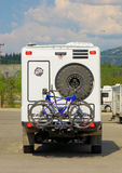 The ultimate off-raod camper parked at whitehorse Royalty Free Stock Photos