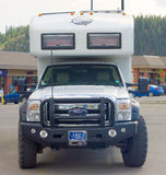 the ultimate off-road, class c motor-home at whitehorse Stock Images