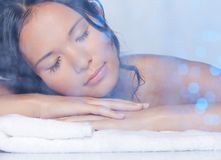 Ultimate relaxation Stock Image