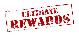 Ultimate rewards. Rubber stamp with text ultimate rewards inside,  illustration Stock Image