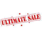Ultimate sale Royalty Free Stock Photography