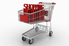 Ultimate Shopping Experience  Stock Photo
