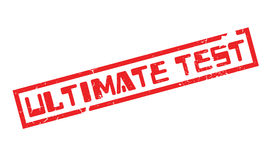 Ultimate Test rubber stamp Royalty Free Stock Photography