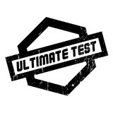 Ultimate Test rubber stamp Royalty Free Stock Image