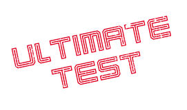 Ultimate Test rubber stamp Royalty Free Stock Photos