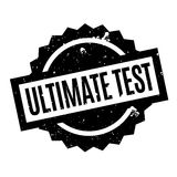 Ultimate Test rubber stamp Stock Photo