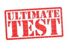 ULTIMATE TEST Rubber Stamp Royalty Free Stock Photo